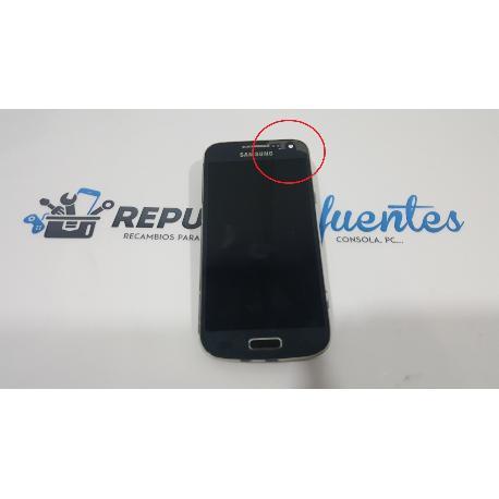 PANTALLA LCD + TACTIL CON MARCO ORIGINAL SAMSUNG GALAXY S4 MINI I9195 NEGRO - RECUPERADA TARA