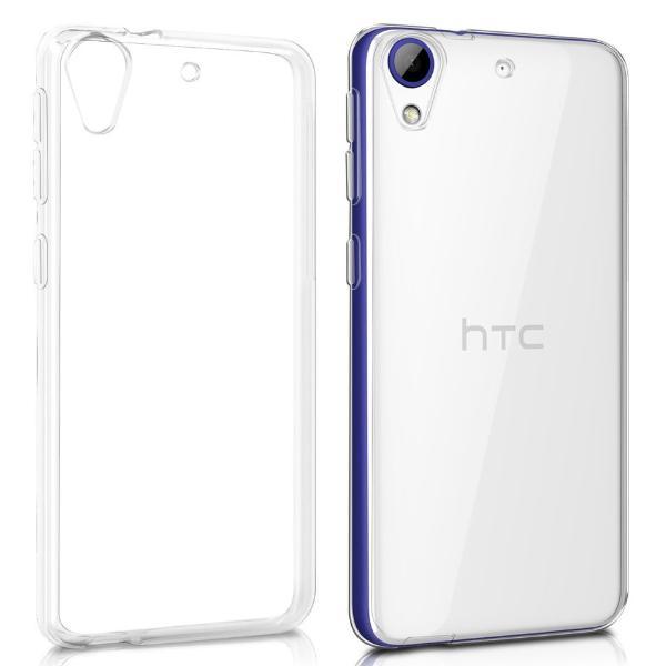 FUNDA TRANSPARENTE DE SILICONA PARA HTC DESIRE 628