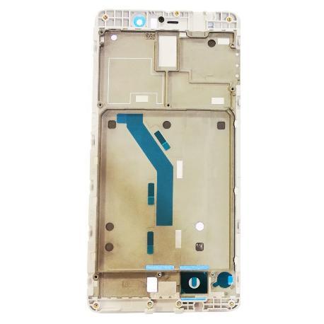 CARCASA MARCO CENTRAL DE LCD PARA XIAOMI MI5S PLUS - BLANCA