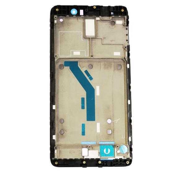 CARCASA MARCO CENTRAL DE LCD PARA XIAOMI MI5S PLUS - NEGRA