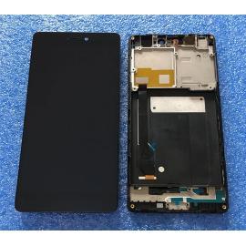 PANTALLA LCD DISPLAY + TACTIL CON MARCO PARA XIAOMI MI 4C - NEGRA