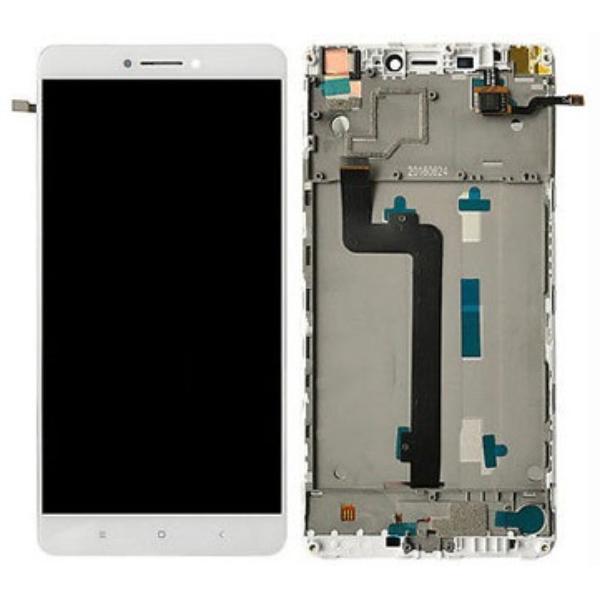 PANTALLA LCD DISPLAY + TACTIL CON MARCO PARA XIAOMI MI MAX - BLANCA