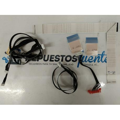 SET DE CABLES TV SAMSUNG UE48J602