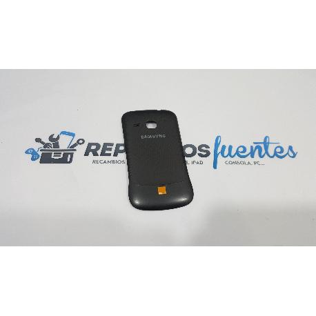 TAPA TRASERA BATERIA ORIGINAL PARA SAMSUNG GALAXY MINI 2 S6500 NEGRA - RECUPERADA