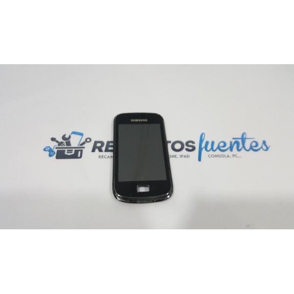 PANTALLA LCD + TACTIL CON MARCO ORIGINAL PARA SAMSUNG GALAXY MINI 2 S6500 - RECUPERADA