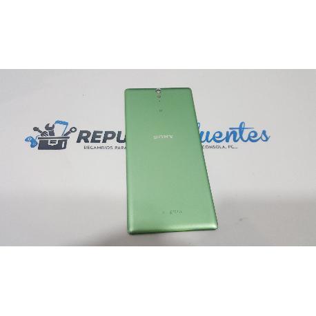 TAPA TRASERA DE BATERIA ORIGINAL SONY XPERIA C5 ULTRA E5506, E5553, ULTRA DUAL E5533, E5563 VERDE - RECUPERADA