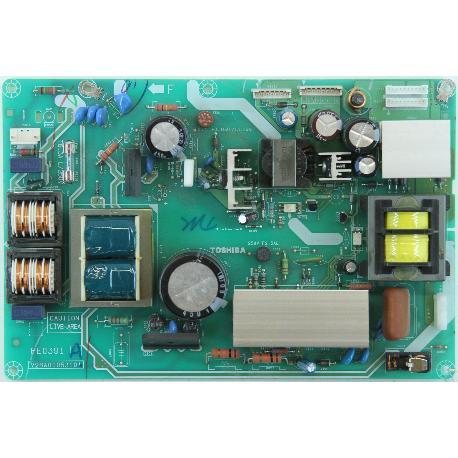 FUENTE DE ALIMENTACIÓN POWER SUPPLY TV TOSHIBA 32C3530D PE0391 V28A00053101