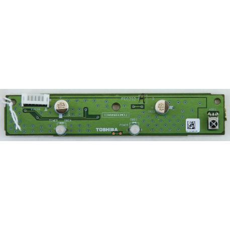 RECEPTOR IR TV TOSHIBA 32C3530D PE0393 V28A000533A3