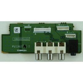 ENTRADA AV TV TOSHIBA 32C3530D PE0393 V28A000533A2