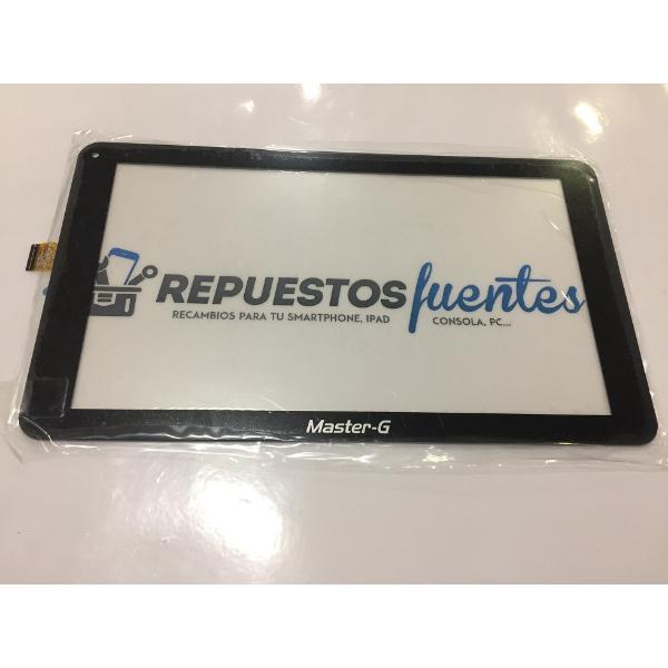 """PANTALLA TACTIL 10.1"""" TABLET MASTER-G C146257A2-DRFPC378T-V1.0 - NEGRA"""