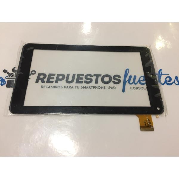 PANTALLA TACTIL PARA TABLET VIA V7 WM8880 GT70PFD8880 , PCBOX T700 YCF0534-A  - NEGRA