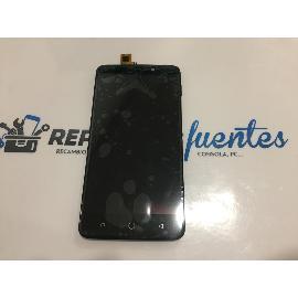 PANTALLA LCD DISPLAY + TACTIL CON MARCO PARA ULEFONE VIENA - NEGRA