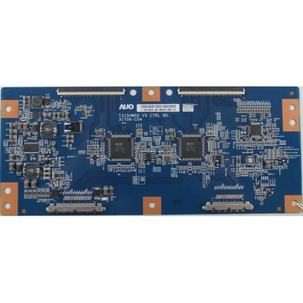 PLACA T-CON BOARD TV TOSHIBA 32XV635D T315HW02 V5 CTRL BD. 31T06-C04