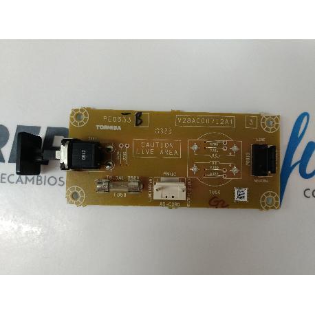 Boton de Encendido TV Toshiba 32XV635D PE0533 V28A000712A1