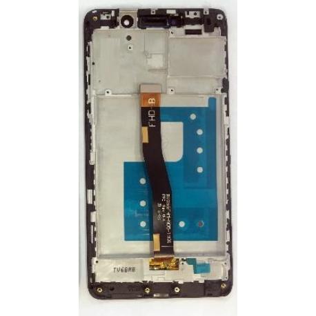 PANTALLA LCD DISPLAY + TACTIL CON MARCO PARA HUAWEI HONOR 6X - NEGRO