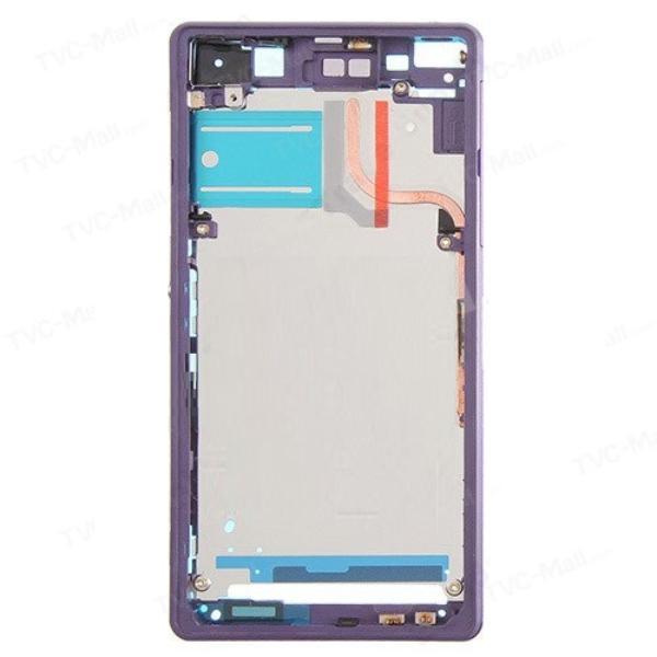PANTALLA LCD DISPLAY + TACTIL CON MARCO PARA SONY XPERIA Z2 D6502, D6503 - LILA / MORADA