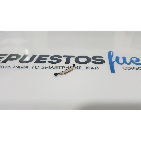 BOTON ENCENDIDO DE CARCASA ORIGINAL PARA ZTE AXON MINI B2016 DORADO - RECUPERADO