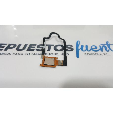 FLEX BOTON HUELLA DACTILAR ORIGINAL PARA ZTE AXON MINI B2016 DORADO - RECUPERADO