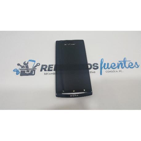 PANTALLA TACTIL + LCD CON MARCO NEGRO SONY ERICSSON XPERIA ARC LT15I LT18I DE DESMONTAJE