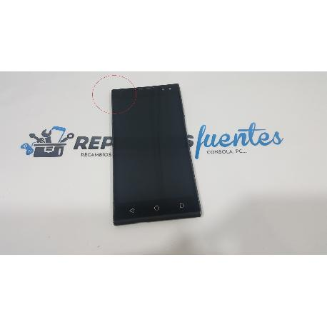 PANTALLA LCD DISPLAY + TACTIL CON MARCO ORIGINAL WEIMEI WE - RECUPERADA CON TARA