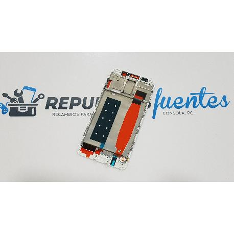 CARCASA FRONTAL DE LCD PARA HUAWEI MATE 9 PRO - BLANCA