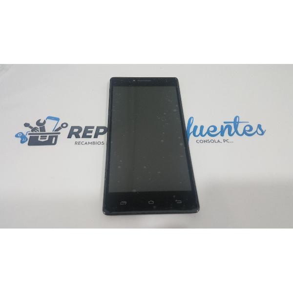 PANTALLA LCD + TACTIL CON MARCO ORIGINAL PARA UNUSUAL 55X 55Y - RECUPERADA
