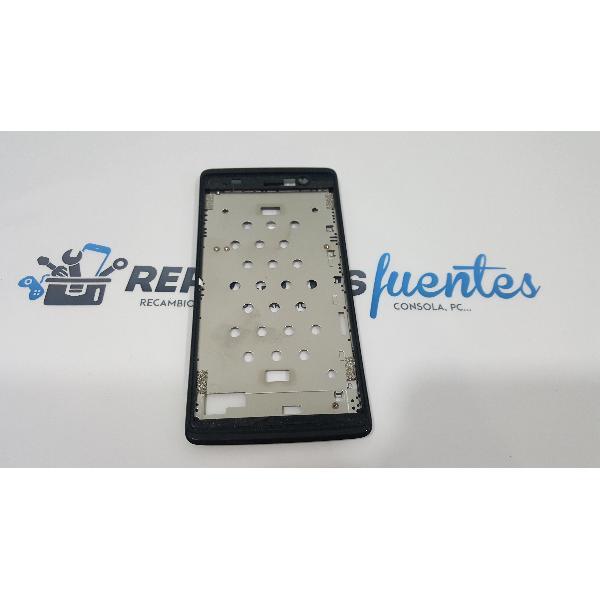 MARCO FRONTAL ORIGINAL ACER LIQUID Z500 NEGRO - RECUPERADO