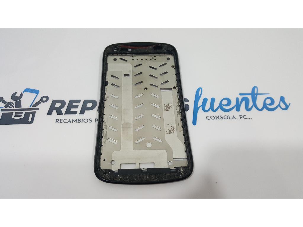 Marco Frontal Original Para Acer Liquid E2 V370 Negro Recuperado