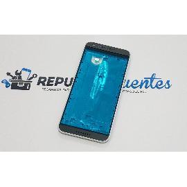 CARCASA FRONTAL DE LCD + EMBELLECEDORES PARA HTC DESIRE 620 - BLANCA