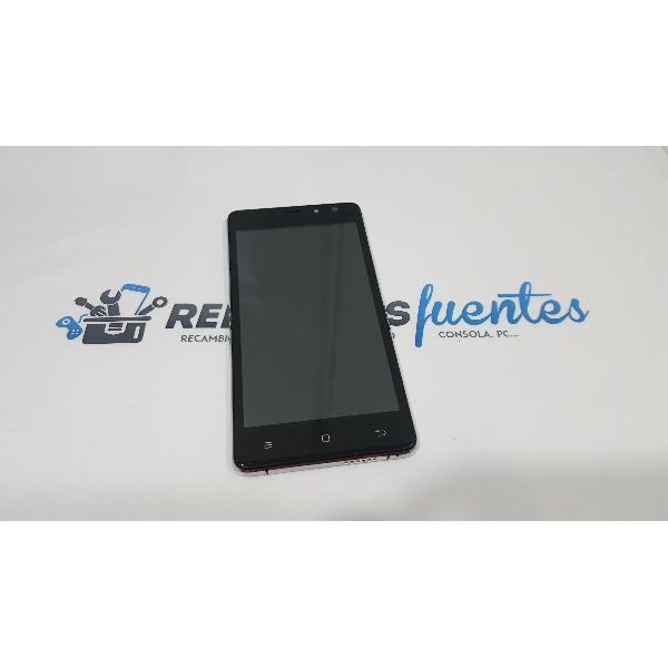 PANTALLA LCD + TACTIL CON MARCO ORIGINAL PARA ZOPO COLOR F5 - RECUPERADA
