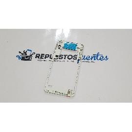CARCASA INTERMEDIA PARA HTC DESIRE 825 - BLANCA