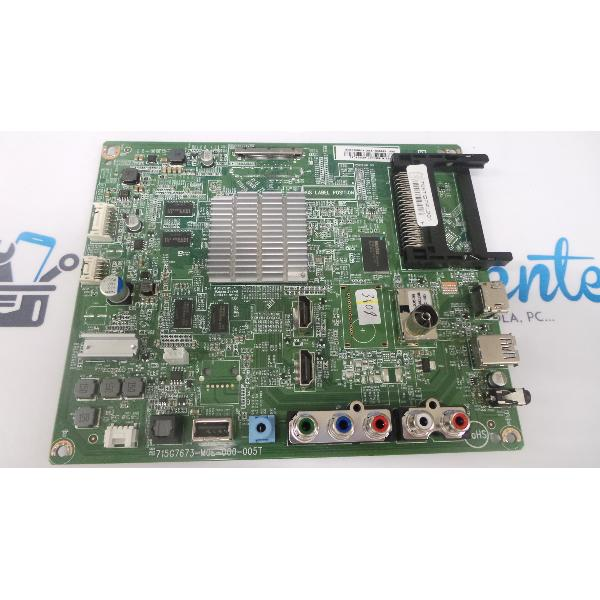 PLACA BASE MAIN BOARD TV PHILIPS 49PUH4900/88 715G7673-M0E-000-005T