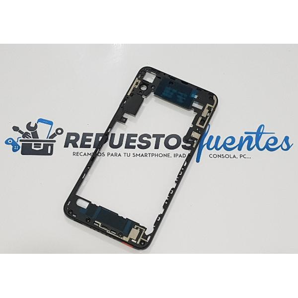 CARCASA INTERMEDIA PARA HTC DESIRE 825 - NEGRA