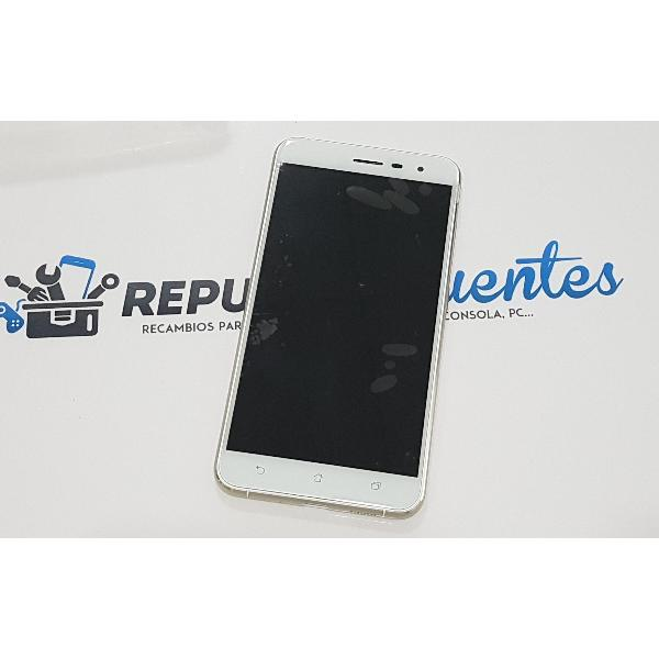 PANTALLA TACTIL + LCD DISPLAY CON MARCO PARA ASUS ZENFONE 3 (ZE552KL) - BLANCA