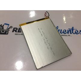 BATERIA (9X12.5CM) 2 CABLES ORIGINAL PARA TABLET SUNSTECH TAB101DC - RECUPERADA
