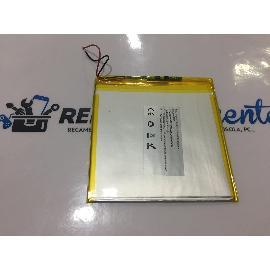 BATERIA (10.5X11CM) 2 CABLES ORIGINAL TABLET STOREX EZEETAB 10Q16-S RECUPERADA