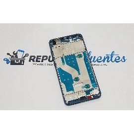CARCASA FRONTAL DE LCD PARA HUAWEI P10 LITE - AZUL