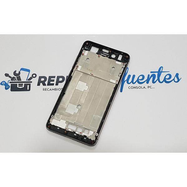 CARCASA FRONTAL DE LCD PARA ZTE NUBIA Z11 MINI / NX529 - NEGRA