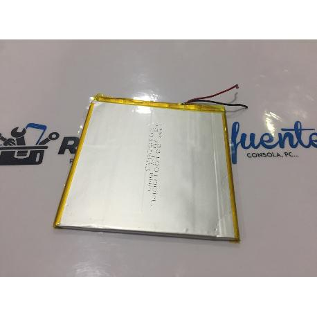 BATERIA (10X10CM) 2 CABLES ORIGINAL TABLET EZEETAB 10Q12-XS MODELO 2 - RECUEPRADA