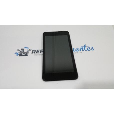 PANTALLA LCD + TACTIL CON MARCO ORIGINAL PARA PRIMUX BETA 2 NEGRA - RECUPERADA