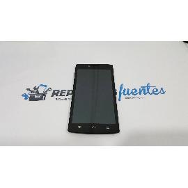 PANTALLA LCD + TACTIL CON MARCO ORIGINAL PARA PRIMUX ZETA 2 - RECUPERADA