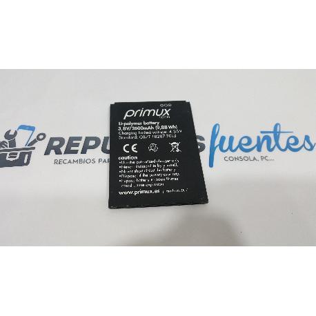 BATERIA ORIGINAL PRIMUX OMEGA 6 / OMEGA 6 4G - RECUPERADA