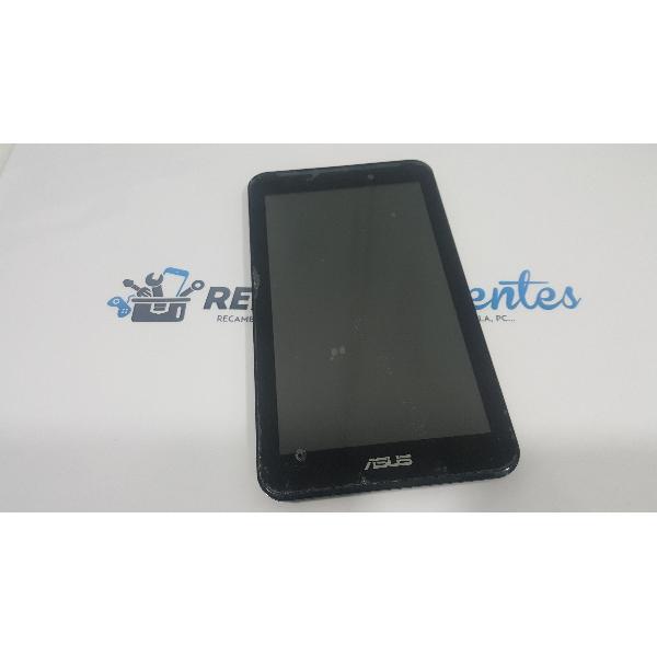 PANTALLA LCD DISPLAY + TACTIL CON MARCO PARA ASUS MEMO PAD 7/ FONEPAD 7 / ASUS ME170/FE170 K012 NEGRA - RECUPERADA