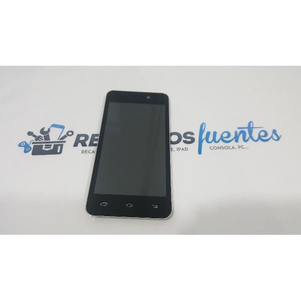PANTALLA LCD + TACTIL CON MARCO ORIGINAL WOLDER MISMART XELFIE - RECUPERADA