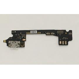 MODULO DE CARGA MICRO USB Y MICROFONO ORIGINAL PARA ALCATEL ONE TOUCH IDOL 3 OT-6045 - RECUPERADO