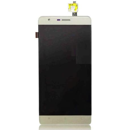 PANTALLA LCD DISPLAY + TACTIL PARA OUKITEL K4000 - DORADA