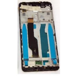 PANTALLA LCD DISPLAY + TACTIL CON MARCO PARA XIAOMI REDMI NOTE 4X - NEGRA