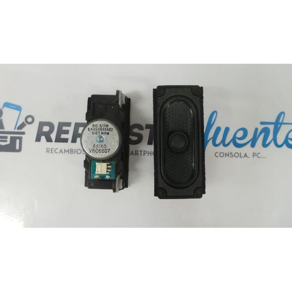 SET DE ALTAVOCES BUZZERS TV LG 49LH570V-ZD EAB64048402