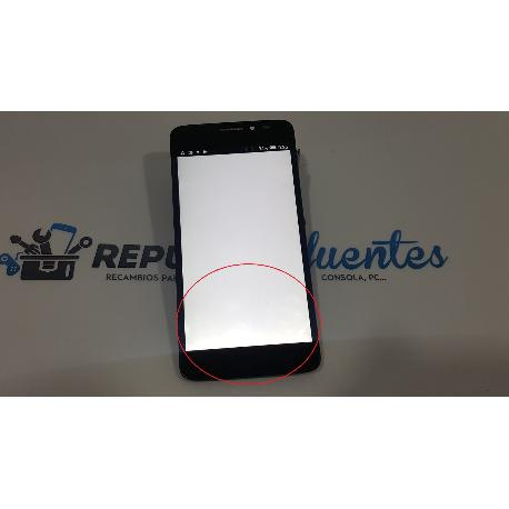 PANTALLA TACTIL + LCD DISPLAY PARA ALCATEL ONE TOUCH IDOL X PLUS / IDOL X+ 6043D NEGRA - RECUPERADA CON TARA