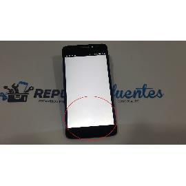 PANTALLA TACTIL + LCD DISPLAY PARA ALCATEL ONE TOUCH IDOL X PLUS / IDOL X+ 6043D NEGRA - RECUPERADA CON TARA